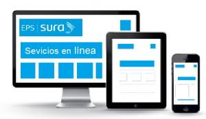 Desde su computador, Tablet o móvil puede realizar todos los trámites virtuales en Línea para el afiliado Sura EPS