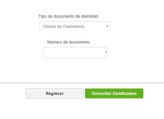 Consultar Certificados