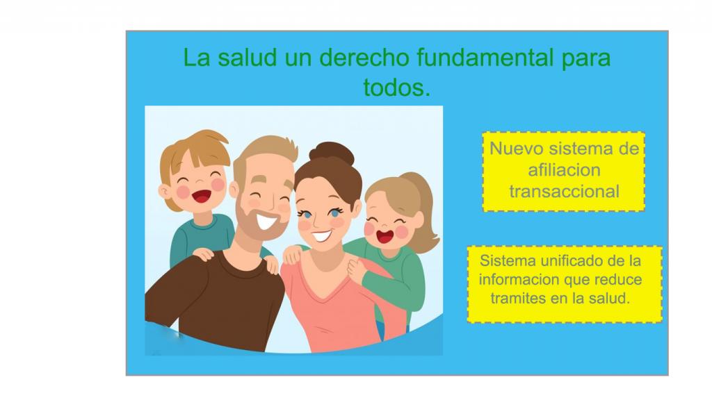 imagen familia nuevo sistema de afiliación transaccional
