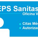 EPS Sanitas Oficina Virtual- Solicitud de citas medicas